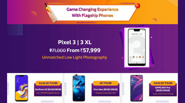 Flipkart Mobile Bonanza offers: Pixel 3 XL, Note 8, Zenfone 5Z and other high-end phones on discount