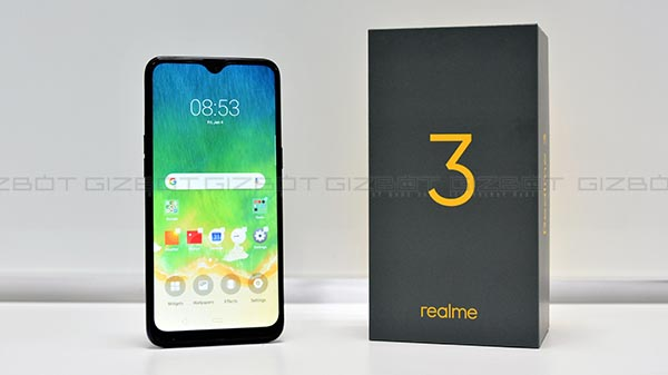 Realme 3 with 6.2-inch HD+ display & MediaTek Helio P70 SoC Launched