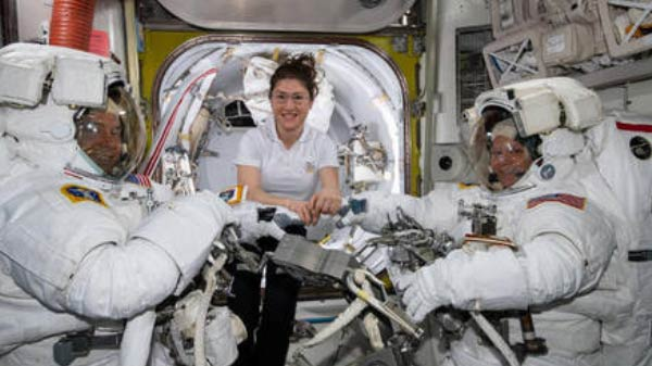 NASA astronaut to break the record for longest spacewalk