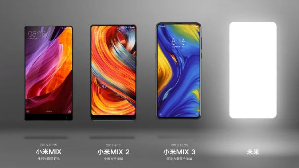 Xiaomi Mi Mix 4 allegedly teased