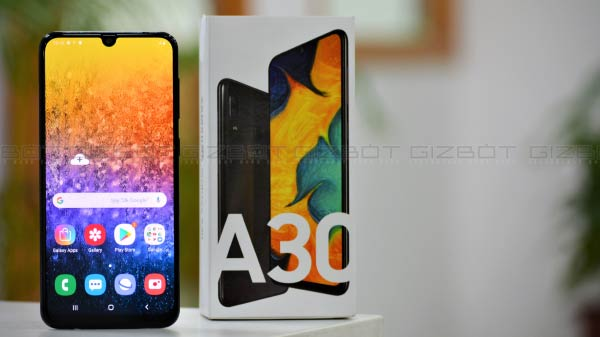 Samsung Galaxy A30 review: Good display and battery, average cameras