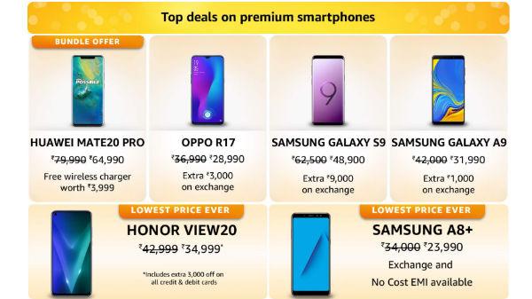 Amazon Fab Phone Fest: Get discounts on premium smartphones