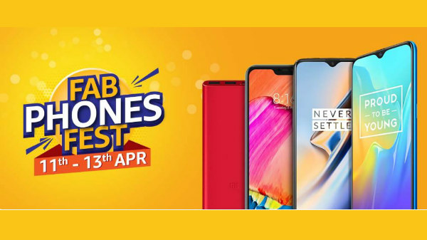 Amazon Fab Phone Fest: irresistible offers on your favorite smartphone