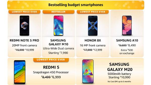 Amazon Fab Phones Fest: Get discounts on budget smartphones
