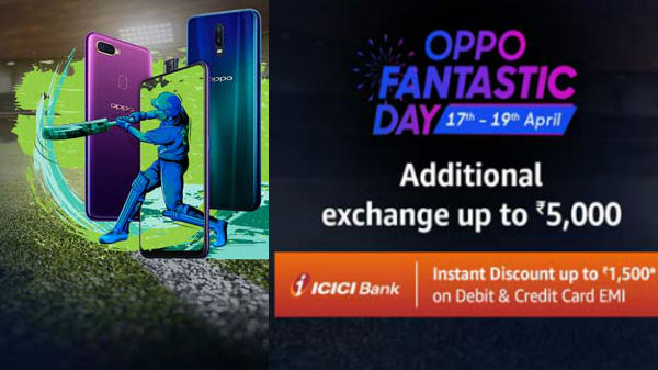 Amazon Oppo Fantastic Day Sale goes live: Offers on Oppo smartphones