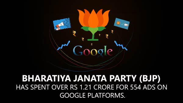 BJP is surely tech-savvy, just ask Google ads