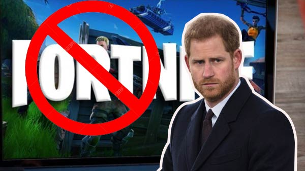 Prince Harry proposes Fortnite ban to prevent gaming addiction