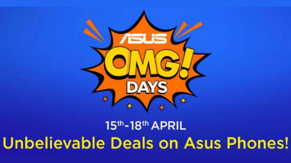 Flipkart Asus OMG Days (15th to 18th April):