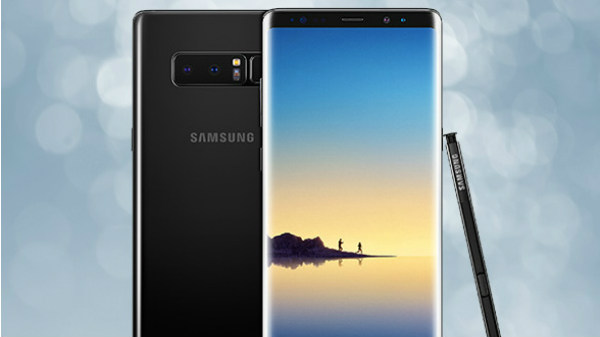 Samsung Galaxy Note 8 new firmware update released