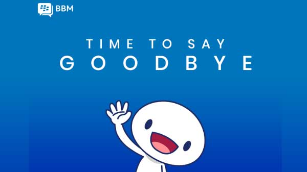 BlackBerry Messenger officially shutting down on May 31