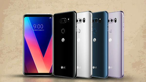 LG V30, V35 ThinQ, and V40 ThinQ Android Pie update to roll out by