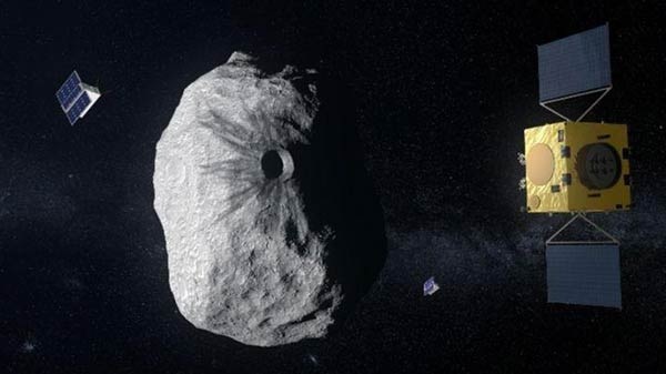 Hera spacecraft will drive itself during ESA's mission to an asteroid