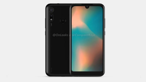 Motorola P40 Play with a dual camera setup spotted online