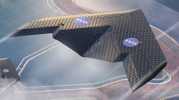 MIT and NASA researchers develop airplane wing that could change shape