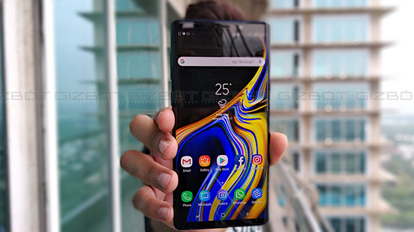 Samsung Galaxy Note 9 new firmware update rolling out