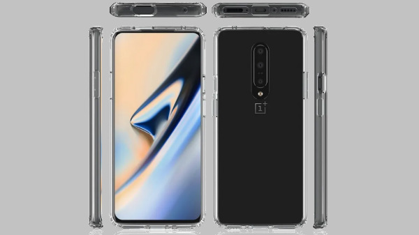 OnePlus 7 case renders reveal its design