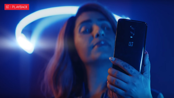 OnePlus 7 with notchless display appears in music video