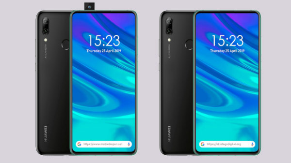 Huawei P Smart Z spotted with pop-up selfie camera and