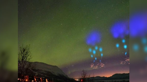 Norway citizens confuse NASA experiment for an alien invasion