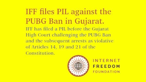 IFF files PIL against PUBG Ban before Gujarat High Court