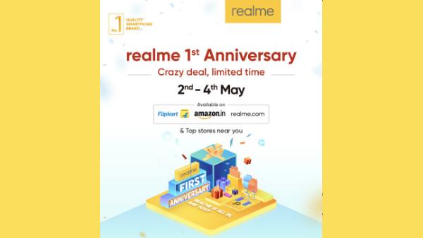Realme 1st anniversary discounts on Realme C1, Realme 3 Pro and more