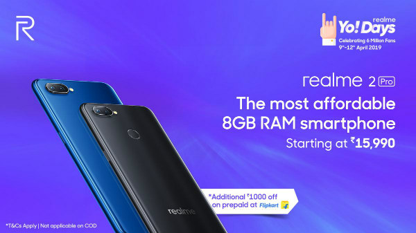 Realme Yo! Days sale debuts on April 9: Discounts and offers