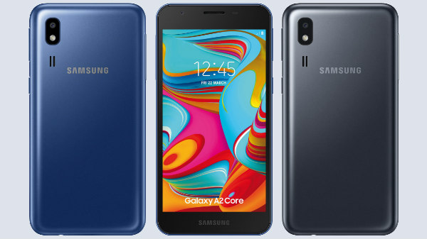 Samsung Galaxy A2 Core to be launched in India soon for Rs. 5,290