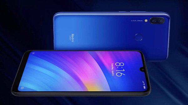 This is how Redmi 7 looks like: Gradient design with dual camera setup