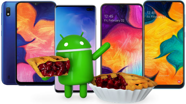 Top Samsung smartphones running the latest Android 9.0 Pie in India