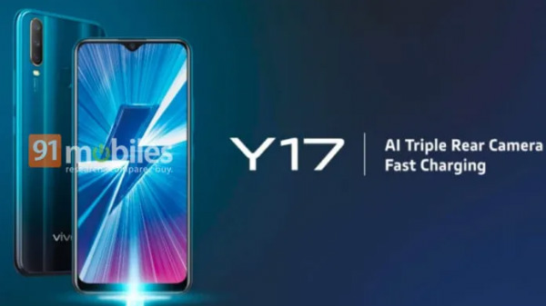Vivo Y17 with triple rear cameras to be launched soon in India
