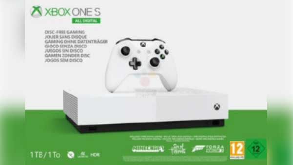 Xbox One S Digital edition expected to launch on May 7: Reports