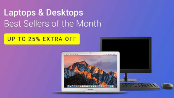 Flipkart offers up to 25% off on bestselling laptops
