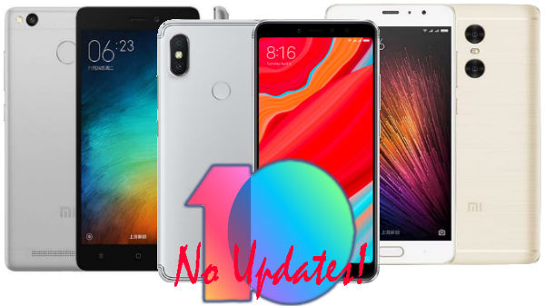 'Heart Break' for users of these 10 Xiaomi smartphones (No MIUI upgrade)
