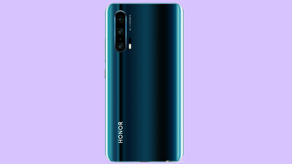 Honor 20 Pro new leak indicates gradient design and quad-camera setup