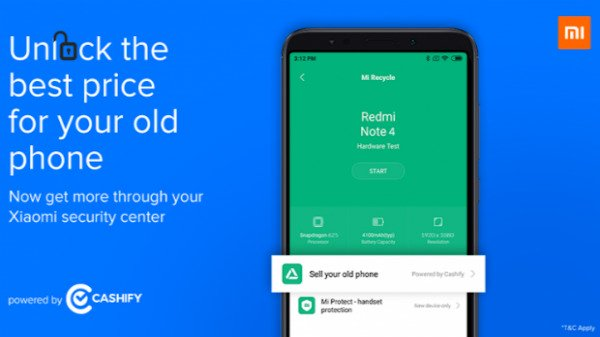 Xiaomi introduces Mi Recycle along with Cashify