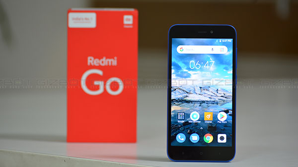 Video: Xiaomi Redmi Go can survive underwater sans IPX certification
