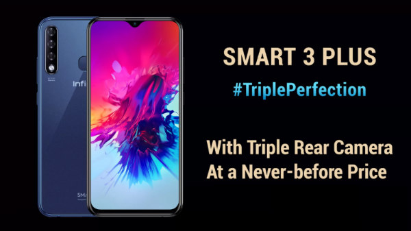 Infinix Smart 3 Plus first impression: First smartphone with triple cameras in sub-7k segment
