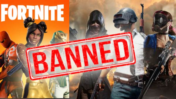 Fortnite Royal Battle and PUBG gets ban in Iraq
