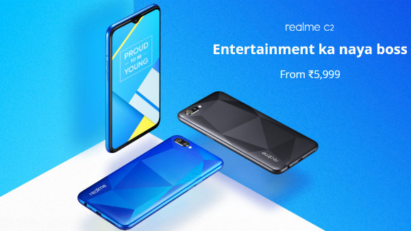 Realme C2 vs other budget smartphones under Rs. 8,000