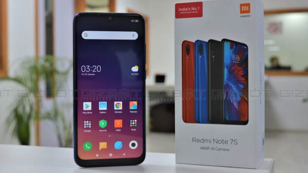 Xiaomi Redmi Note 7s first impression