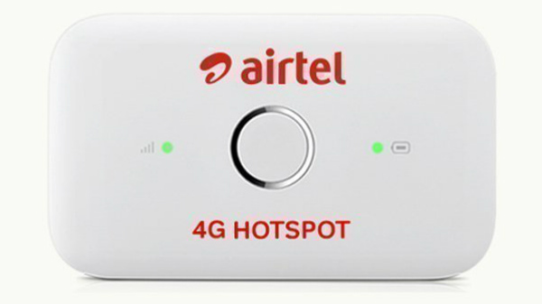 Airtel 4G Hotspot is now available for Rs. 399