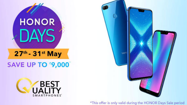 Amazon Honor Days sale: Offers on Honor 10 Lite, Honor 8X and more