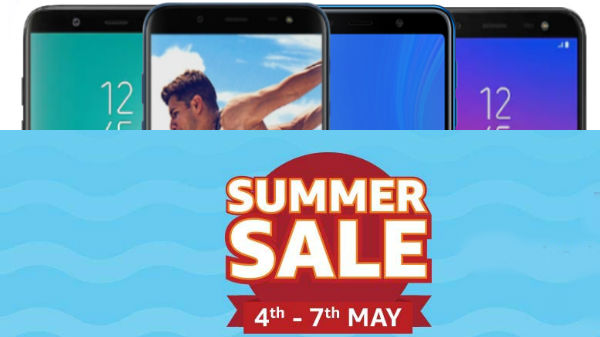 Amazon Summer Sale discounts and cashback offers on Samsung phones