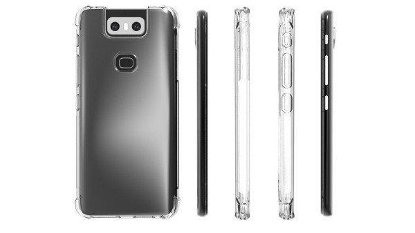 Asus Zenfone 6 case renders reveal design from all angles
