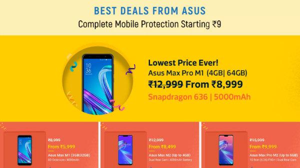 Flipakrt Big Shopping Days Sale: Get offers on Asus smartphones