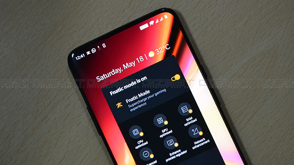 Fnatic gaming mode on OnePlus 7 Pro explained