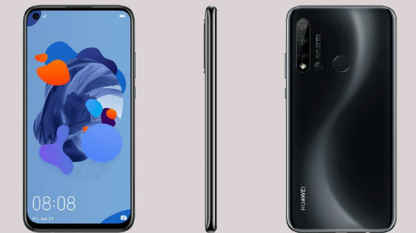 Huawei P20 Lite (2019) leaks with quad-cameras and punch-hole display