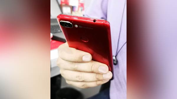 Hands-on image of itel smartphone leaked ahead of official launch