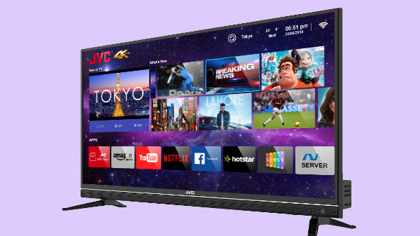 JVC launches 43N7150C UHD 4K LED smart TV for Rs 24,999 in India
