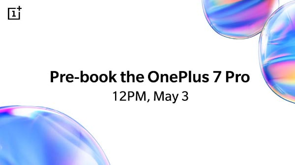 Pre-book your OnePlus 7 Pro in few simple step starting today